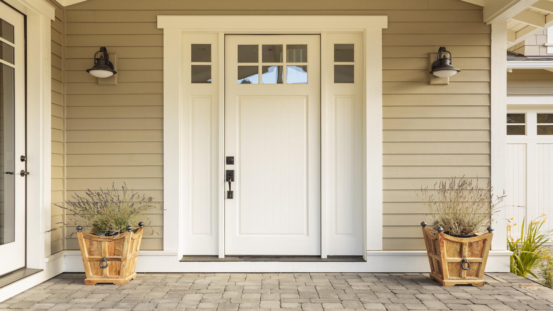 comment choisir une porte d entr e archidesign. Black Bedroom Furniture Sets. Home Design Ideas