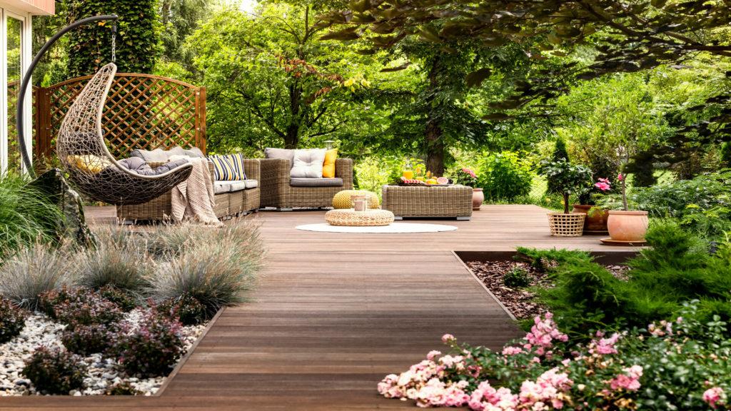 Une terrasse Jardin