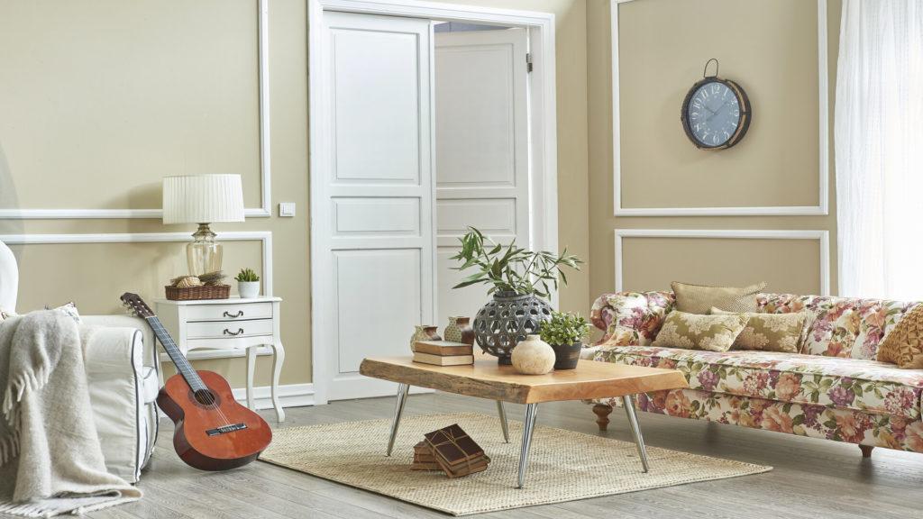Les meubles d'une déco classique
