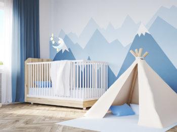 Quel papier peint pour la chambre de bébé