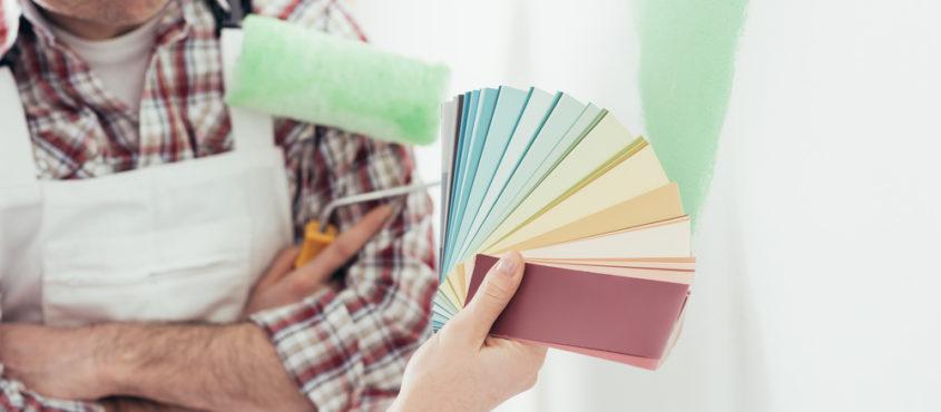 Peinture murale : choisir la bonne couleur pour la déco et le bien-être