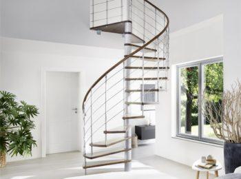 Optez pour un escalier colimaçon industriel