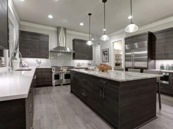 L'architecture intérieure autour de la cuisine